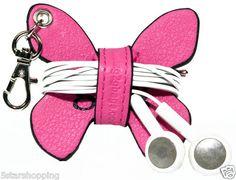 Butterfly headphone wire winder