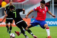 La selección sub'17 de México goleó hoy a la de Chile por 4-1 y obtuvo la clasificación para los cuartos de final del Mundial de la categoría, donde se enfrentará con el ganador del duelo de este jueves entre Rusia y Ecuador. Octubre 28, 2015.
