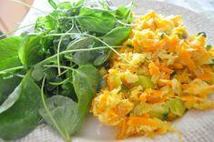 legumes e bacalhau à Brás com salada de agrião | cozinha de caverna