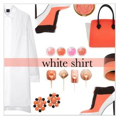 """White shirt"" by simona-altobelli ❤ liked on Polyvore featuring McQ by Alexander McQueen, Kenzo, Furla, Marni, Milani, WardrobeStaple, MyStyle, whiteshirt and polyvorecontest"