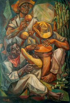 The Merengue, Artist Vela Zanetti (1913–1999) Modern and Contemporary Art from the Dominican Republic