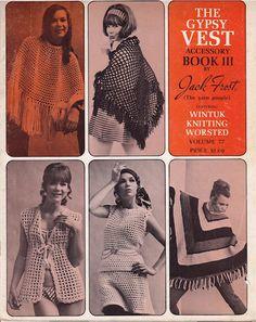 Vintage Vest Pattern, The Gypsy Vest, Book 3, Book III, Vest Pattern by TheArtsyFarm on Etsy