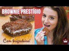 BROWNIE PRESTÍGIO COM BRIGADEIRO! - Cozinha do Bom Gosto Chocolate, Banana Bread, Desserts, Youtube, Tailgate Desserts, Cakes, Easter Lunch, Sweet Recipes, Ideas
