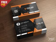 Premium Business Card Templates Free Psd by PSD Zone