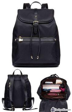 Bostanten backpack - Stylish work backpack for women - Learn more https://backpackies.com/blog/best-womens-backpacks-for-work/#bostanten