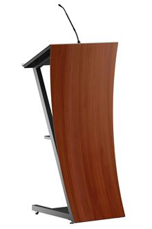 ZenSAYtion wood lectern Villa ProCtrl presentation desk