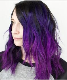 15.2k Likes 52 Comments - Pulp Riot Hair Color (Pulp Riot Hair) on Instagram: That Pulp Riot purple blend tho... by @caitlinfordhair