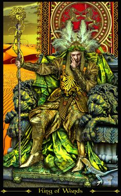 King of Wands-REVISED by Elric2012.deviantart.com on @deviantART