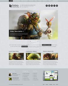 FREE Responsive Wordpress Theme by ~ait-themes on deviantART