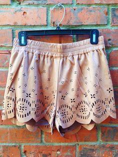 | MINKPINK | 'lackawanna blues' short - $64 #minkpink #suede #shorts #awesome #boho #bohochic #shop #spring #boutique #daintyliontx visit us here: www.daintylion.com