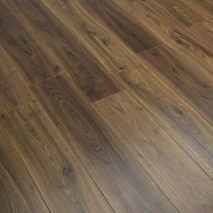 Chalet - Majestic Walnut Laminate Flooring The Effective Pictures We Offer You About blackbutt laminate flooring A quality picture can tel Herringbone Laminate Flooring, Laminate Flooring On Walls, Aquaguard Flooring, Direct Wood Flooring, Linoleum Flooring, Transition Flooring, Best Laminate, Playground Flooring, Basement Remodel Diy