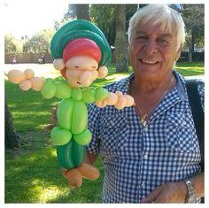 Peter Pan balloon character #peter pan #balloon #character #sculpture #twist
