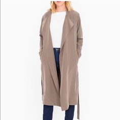 Lightweight Dylan Trench Coat NWT American Apparel Jackets & Coats