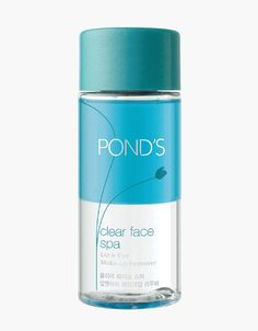 Pond's New Clear Face Spa Lip & Eye Makeup Remover, 4.06 fl oz. Best Makeup Remover, Eye Make-up Remover, Make Up Remover, Clear Face, Innisfree, Eye Make Up, Pond, Spa, How To Remove