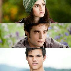 Eclipse - Bella, Edward and Jacob @twilight_fanstuff