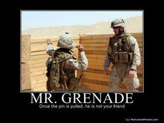 Mr Grenade