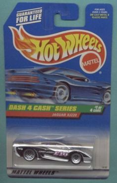 Mattel Hot Wheels 1998 1:64 Scale Dash 4 Cash Series Black & Silver Jaguar XJ220 Die Cast Car 1/4 by Mattel. $0.01. Mattel Hot Wheels 1998 1:64 Scale Dash 4 Cash Series Black & Silver Jaguar XJ220 Die Cast Car 1/4