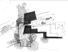 Image 34 of 34 from gallery of Desert Courtyard House / Wendell Burnette Architects. Sketch
