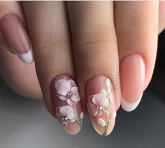 Wedding Nails-A Guide To The Perfect Manicure – NaiLovely 3d Nail Designs, Cute Acrylic Nail Designs, Cute Nails, Pretty Nails, 3d Acrylic Nails, 3d Nails Art, Beauty Nail, Bride Nails, Wedding Nails