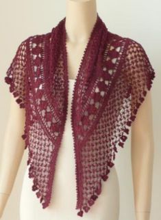 Knots of Love Shawl Designed by Kathryn White
