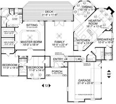 not sure about bedrooms on the main floor but I like the layout + bonus room upstairs + basement