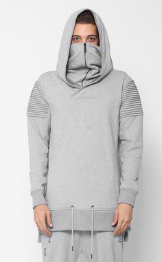 UNKNOWN VENGEANCE HOODIE Gray – Entree Lifestyle