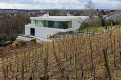 Architects draw their inspiration from all kinds of different sources, but the shape of this home in Stuttgart was influenced by the site on which it sits. The Haus am Weinberg, designed by Dutch firm UNStudio, shares a border with a vineyard. The steps of that vineyard inspired th ...