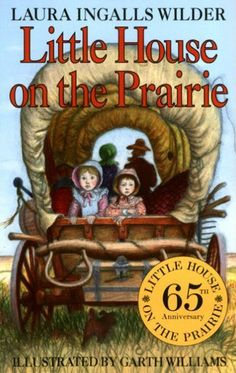 """Historical Fiction by Laura Ingalls Wilder -This is a wonderful book about the Ingall family's life on the Kansas prairie. The book really illustrates all of the struggles that the pioneers faced. I would have my students have a """"pioneer day"""" in my classroom. We would do many crafts including making cornhusk dolls and handmade bread and butter. I would use this book for grades 3rd-5th."""