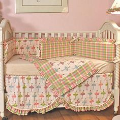 A crib lined with the soft bumpers and cozy blankets of the Hoohobbers Ballerina 4 Piece Crib Bedding Set is probably a great place to practice a few. Girl Room, Girls Bedroom, Baby Room, Bedroom Ideas, Baby Gifts For Dad, Best Crib, Girl Cribs, Baby Crib Bedding, Cozy Blankets