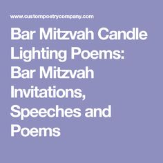 Words of wisdom from parents whove been there candle lighting words of wisdom from parents whove been there candle lighting ceremony poem examples brandons bar mitzvah pinterest candle lighting ceremony aloadofball Choice Image