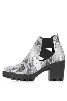 c6061ab8f6a08 BOSTON Cut-Out Boots - Topshop Snake Boots