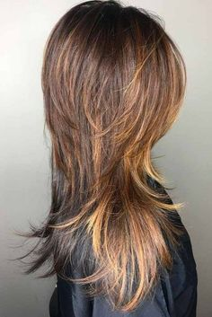 Lovely Shaggy Haircuts With Layers for Your Distinctive Style ★ See more: http://lovehairstyles.com/shaggy-haircuts-with-layers/