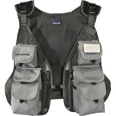 Patagonia - Convertible Fly Fishing Vest - Forge Grey