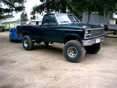 lifted Fords
