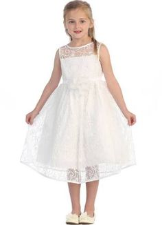 4e112befc0e8 ivory and red flower girl dresses - Google Search Paggette In Pizzo