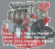 deutz f2 4l 1011f bf4l 1011f f3 4m 1011f bf4m 1011f workshop repair rh pinterest com Deutz -Fahr Manual Deutz -Fahr Manual