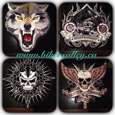 www.bikersalley.ca Patches Available @ Bikers Alley Store!