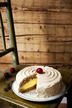 Apple cake with cheesecake filling, also from my upcoming cookbook (Nov 2015)
