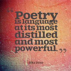 Poetry is powerful | Rita Dove