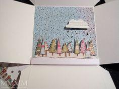 Mel Stampz: Diorama tutorial (whole lotta glitter goin on!)