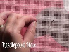 Needlepoint Now Video | Bullion Knot (+playlist)