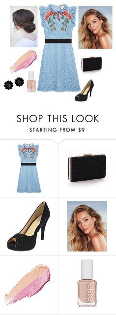 """""""Spring"""" by chicastic on Polyvore featuring Gucci, By Terry and Essie"""