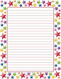 Printable star stationery and writing paper. Multiple versions available with or… - Paper Diy Printable Lined Paper, Free Printable Stationery, Printable Star, Lined Writing Paper, Writing Papers, Notebook Paper, Borders For Paper, Stationery Paper, Document