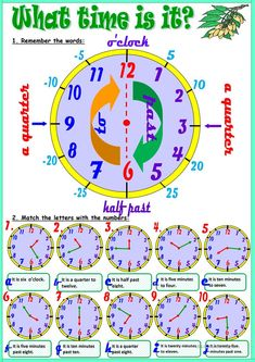 What time is it? worksheet - Free ESL printable worksheets made by teachers English Time, English Study, English Lessons, Learn English, Social Skills Activities, English Activities, 1st Grade Worksheets, 2nd Grade Math, Printable Worksheets