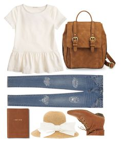 """She Takes the Morning Train"" by vintagenerd8 ❤ liked on Polyvore featuring mode, ASOS, J.Crew, Yves Saint Laurent en Monica Rich Kosann"