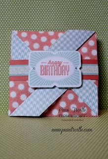 Pam's Crafty Creations: Zoe cards #ctmhzoe | CTMH August Stamp of the Month