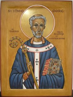 Saint Theodore of Tarsus, Archbishop of Canterbury