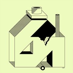 from my daily reading, art & meaning Drawing Sketches, Drawings, Design Art, Graphic Design, Art Plastique, Little Houses, Pretty Cool, Painting & Drawing, Illusions