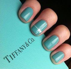 Tiffany uñas para la princess