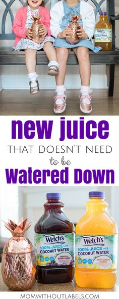 I found a brand new, delicious and refreshing juice from Welch's that's juice with less sugar! It has coconut water in it! Best Smoothie Recipes, Good Smoothies, Welch Juice, Water Kids, Mom Hacks, Toddler Meals, Coconut Water, Mom Blogs, Preschool